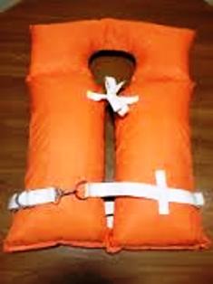 Orange Kapok Life Vest