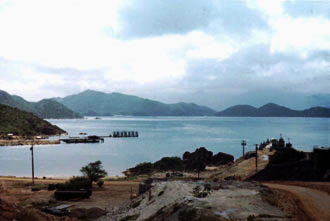 Cam Ranh Bay (bay side view)
